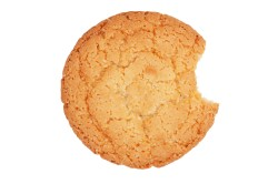 Big round delicious biscuits